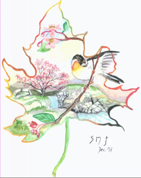 Watercolour Paintings ~ Auragraphs~ (3/6)