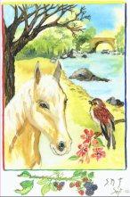 Horse and Bird.