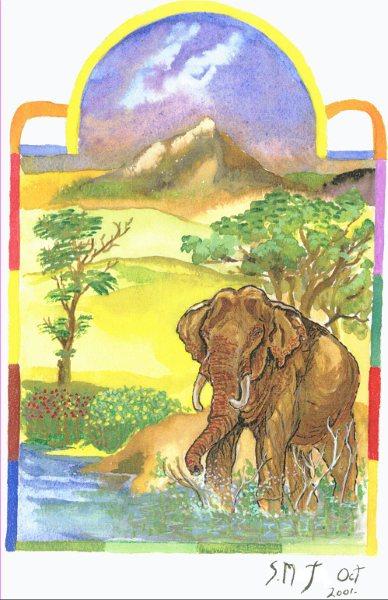 Watercolour Paintings ~ Auragraphs~ (2/6)
