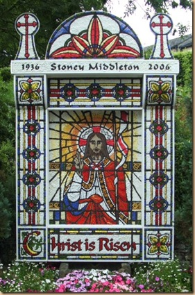 Well dressing Stoney Middleton