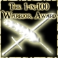 1 -n-100-Warrior Award