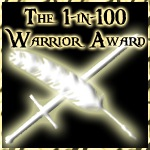 1-in-100-warrior-award