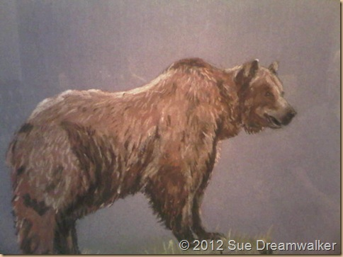 Strength, Bears, and Pastels Drawings. (1/2)