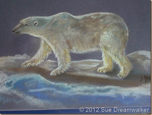 Strength, Bears, and Pastels Drawings. (2/2)
