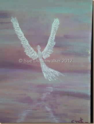 Angel Reflection