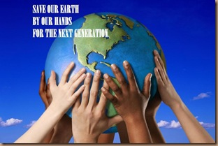 Save our Earth.. we are One