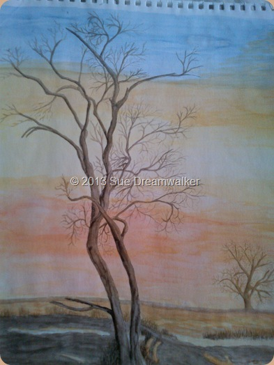 Watercolour Tree