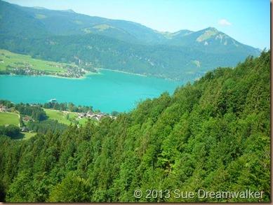 Austrian Mountains and lake 2008