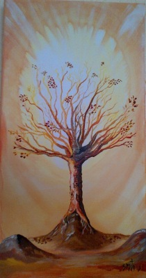 Autumn Tree in my Seasons Series