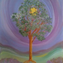 Summer Tree in my seasons series