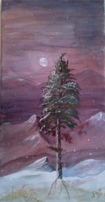 Winter Tree in my Seasons series