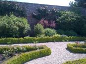 walking around the walled garden in Sewerby Hall