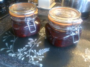 Blackberry and Apple Chutney