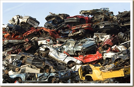 Friday Facts ~ What has happened to our Hearts? Scrap-cars