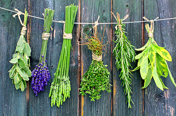 Cleansing~ Energising and Listening to your Heart Drying_herbs001