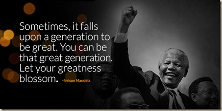 Born to be Great Nelson-manela