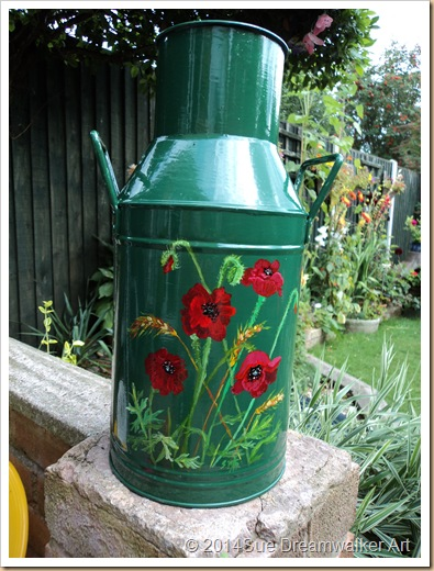 Poppy Milk Churn