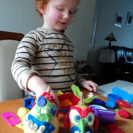Creative Time with Play Dough