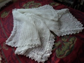 Baby Shawl finished