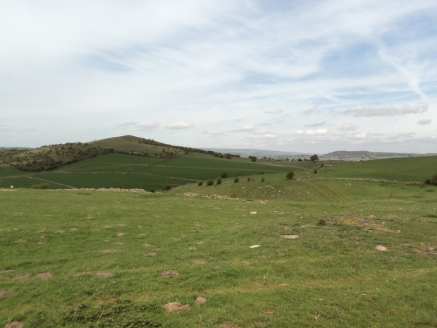 Hills of Derbyshire Peak