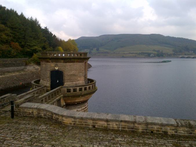 One of the towers at Ladybower