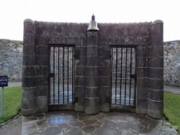 Exercise Yards ~ Inveraray Jail Scotland. We need to exercise our Minds.