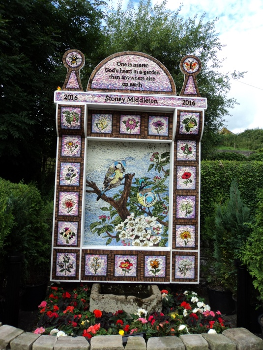 Stoney Middleton Well Dressing 2016