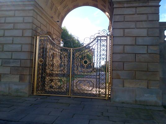 Gateway at Chatsworth House