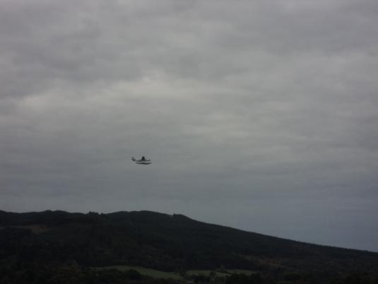 Sea Plane in flight