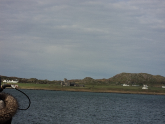 Our first glimpse of the Abbey as we approached by Ferry the Isle of Iona