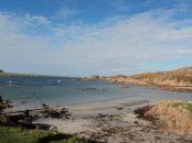 Shore line of Isle of Mull