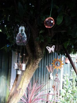 Chimes, crystals and Butterflies