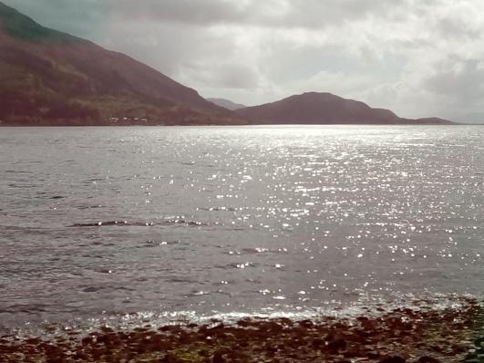 Light dances on the Loch