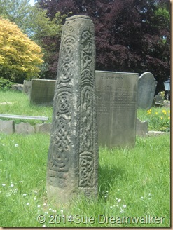 Celtic Cross Bakewell Church
