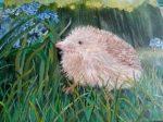 Hedgehog In Spring